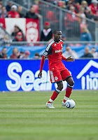 02 April 2011: Toronto FC midfielder Tony Tchani #22 in action during an MLS game between Chivas USA and the Toronto FC at BMO Field in Toronto, Ontario Canada..The game ended in a 1-1 draw.