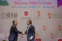 Abdullah Gul turkish conference w Viktor Orban