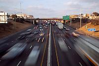 Rush Hour Traffic on I-35