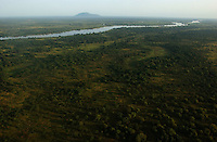 The Nile River, border of the Boma-Jonglei Landscape is home to some of the most spectacular and important wildlife populations of ungulates, including  perhaps the largest wildlife migration in the world by an antelope called the white-eared kob. (PHOTO: MIGUEL JUAREZ LUGO)