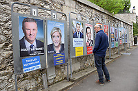 French presidential election candidates, France April 2017. MR