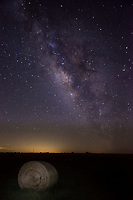 This is another haybay with the milkyway on a nice night in the Texas Hill Country.