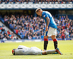 Martyn Waghorn catches Tomas Cerny by accident