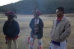 Pilgrimage of Native Wixaricas to their sacred place of Wirikuta, February 2012. Photo by Heriberto Rodriguez