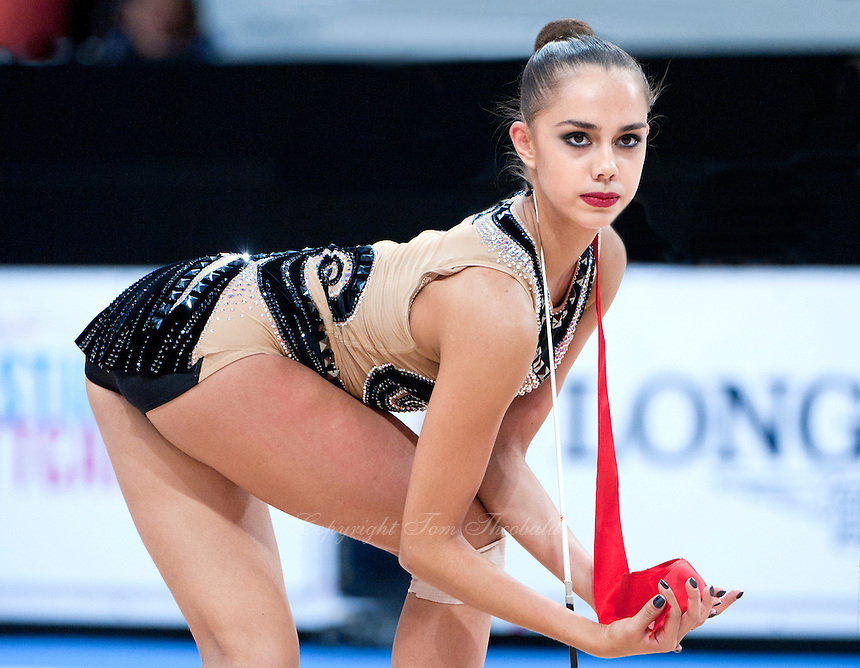 September 11, 2015 - Stuttgart, Germany - MARGARITA MAMUN of Russia performs during AA final at 2015 World Championships.