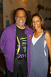 """Love Boat's Ted Lange """"Issac"""" and Passions Chrystee Pharris perform in Ted Lange's """"The Journals of Osborne P. Anderson"""" at The National Black Theatre Festival with a week of plays, workshops and much more with an opening night gala of dinner, awards presentation followed by Black Stars of the Great White Way followed by a celebrity reception. It is an International Celebration and Reunion of Spirit. (Photo by Sue Coflin/Max Photos)"""