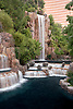 Waterfalls at the Wynn Hotel Resort, Las Vegas, Nevada