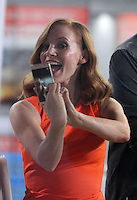 NEW YORK, NY - NOVEMBER 25: Jessica Chastain at NBC's Today Show promoting her new movie Miss Sloane in New York City on November 25, 2016. Credit: RW/MediaPunch