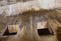 Roma 1 Aprile 2015<br /> Presentato il progetto per il risanamento della Domus Aurea, realizzato dalla Soprintendenza speciale per i beni archeologici di Roma, che consiste nella sistemazione del  giardino pensile,una parcella di 800 mq ,realizzato con tecnologie sostenibili che far&agrave; da &laquo;scudo&raquo; alla  Domus Aurea impedendo le infiltrazioni d'acqua. L'interno della Domus Aurea danneggiato dalle infiltrazioni d'acqua.<br /> Rome, April 1, 2015<br /> Presented the project for the rehabilitation of the Domus Aurea, fulfilled  by the Superintendence for Cultural Heritage of Rome, which is the arrangement of the roof garden, a plot of 800 square meters, made with sustainable technologies that will be the &quot;shield&quot; at the Domus Aurea for  preventing water infiltration. The interior of the Domus Aurea damaged by water infiltration.