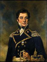 Trafalgar sword of American born Captain.