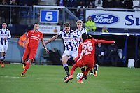 VOETBAL: HEERENVEEN: 06-02-16, Abe Lenstra Stadion, SC Heerenveen - FC Twente, uitslag 1-3, Joey van den Berg, Hakim Ziyech, ©foto Martin de Jong