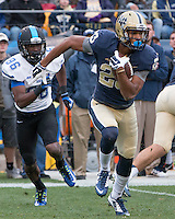 Pitt wide receiver Tyler Boyd (23). The Duke Blue Devils defeated the Pitt Panthers 51-48 at Heinz Field, Pittsburgh Pennsylvania on November 1, 2014.