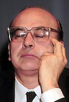 Roma 25  Gennaio 1986.Bettino Craxi.  Presidente del Consiglio (Prime Minister).(1934-2000)