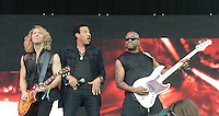 JUN 28 Lionel Richie performs live on the Pyramid stage during the third day of the Glastonbury Fest