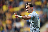 George North of Northampton Saints. Aviva Premiership match, between Wasps and Northampton Saints on April 3, 2016 at the Ricoh Arena in Coventry, England. Photo by: Patrick Khachfe / JMP