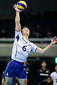 Kenji Shirasawa (Panthers), MARCH 5, 2011 - Volleyball : 2010/11 Men's V.Premier League match between Toyoda Gosei Trefuerza 1-3 Panasonic Panthers at Tokyo Metropolitan Gymnasium in Tokyo, Japan. (Photo by AZUL/AFLO).