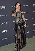 LOS ANGELES, CA. October 29, 2016: Actress Salma Hayek Pinault at the 2016 LACMA Art+Film Gala at the Los Angeles County Museum of Art.<br /> Picture: Paul Smith/Featureflash/SilverHub 0208 004 5359/ 07711 972644 Editors@silverhubmedia.com