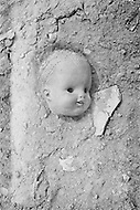September 1967 --- Doll parts in a New York City dump. --- Image by © JP Laffont/Sygma/CORBIS