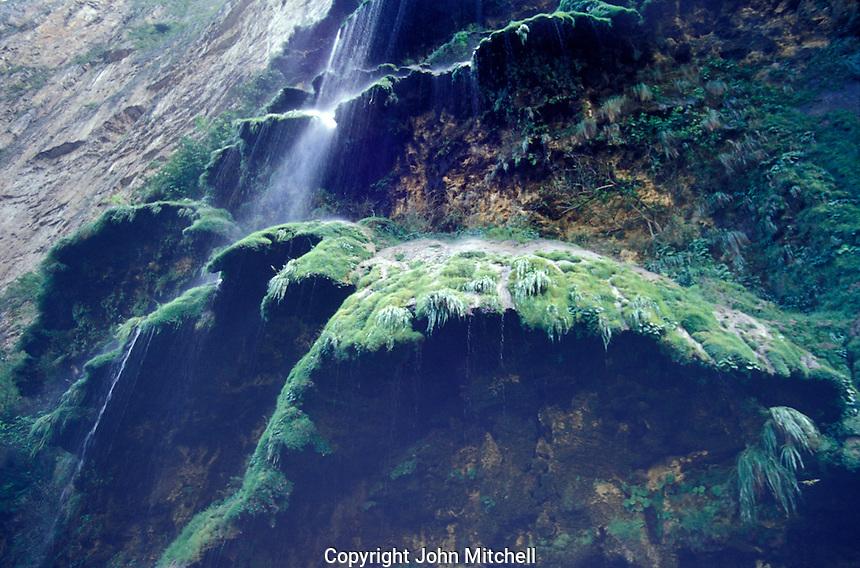 Waterfall in Sumidero Canyon, Chiapas