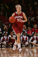 STANFORD, CA - JANUARY 30:  JJ Hones of the Stanford Cardinal during Stanford's 83-62 win over Arizona on January 30, 2010 at Maples Pavilion in Stanford, California.