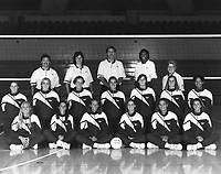 1993 Team: Front L-R Maureen McLaren, Denise Rotert, Heidi Eick, Piper Hahn, Anne Wicks, Wendy Hromadka; Middle L-R Catherine Juillard, Nikki Otto, Marnie Triefenbach, Cary Wendell, Eileen Murfee, Colleen Miniuk, Paula McNamee; Back L-R Steve Schulz, Denise Corlett, Don Shaw, Kim Oden, Dava Reeder.