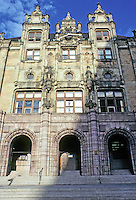 St. Louis: City Hall, East Facade. Photo '78.