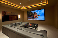 Residential home theatre / media room