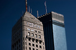 The iconic Foshay and IDS Towers Building in Downtown Minneapolis