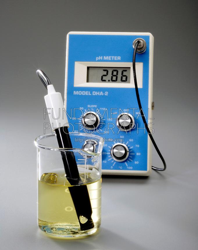 Ph Meter For Chemicals : Science chemistry acid base ph meter indicator