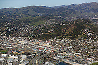aerial photograph, San Rafael, Marin County, California