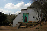 Afridca, Morocco, Rabat. Building at the Chellah.