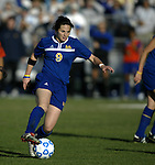 05 December 2004: Bristyn Davis. Notre Dame defeated UCLA 4-3 on penalty kicks after the game ended in a 1-1 overtime tie at SAS Stadium in Cary, NC in the championship match in the 2004 NCAA Division I Women's College Cup..