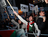 Gaza Rally outside Israel Embassy 17/11/2012