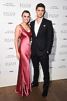 Samantha Barks &amp; Max Irons at the gala screening for &quot;Bitter Harvest&quot; at the Ham Yard Hotel, London, UK. <br /> 20 February  2017<br /> Picture: Steve Vas/Featureflash/SilverHub 0208 004 5359 sales@silverhubmedia.com