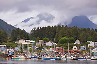 Commercial fishing vessels, Sitka Channel, Sitka, Alaska