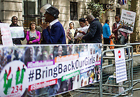 "05.05.2014 - ""Bring Back Our Girls"" - Demo Outside Nigeria House"