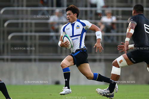 Akihito Yamada (Wild Knights), .SEPTEMBER 1, 2012 - Rugby : .Japan Rugby Top League 2012-2013 .between Ricoh Black Rams 13-44 Panasonic Wild Knights .at Prince Chichibu Memorial Stadium, Tokyo, Japan. .(Photo by YUTAKA/AFLO SPORT) [1040]