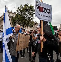 09.09.2015 - Pro-Palestine & Pro-Israel Demos While Bibi Netanyahu Visits London