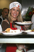 Katherine Kelly Lang at the LA Mission Thanksgivng Feeding of the Homeless in    Los Angeles, CA.November 26, 2008.©2008 Kathy Hutchins / Hutchins Photo....