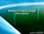 "Celebration of Mount Tabor Park, one of the oldest urban parks in the United States.  Located on an extinct volcanic cinder cone, and designed in 1909 by Emanuel T. Mische and John Charles Olmsted, this urban park incorporated working open water reservoirs, a vital link to bringing fresh, high-quality drinking water from Bull Run to the Portland area.  These reservoirs have been condemned by new EPA regulations, and plans are already in progress for their elimination from the water distribution system.  Standard format – 8.5"" x 11"" (217mm x 280mm) – full color.  All photos © Andrew Haliburton."