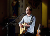 Alex Cornish <br /> performs live at St Pancras Old Church, London, Great Britain <br /> 10th August 2015 <br /> <br /> Alex Cornish <br /> singer songwriter <br /> <br /> <br /> Photograph by Elliott Franks <br /> Image licensed to Elliott Franks Photography Services