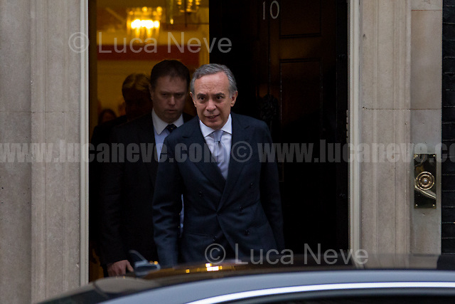 Pasquale Terracciano (Italian Ambassador in the UK).<br />