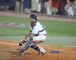 Ole Miss' Taylor Hightower (13) vs. Georgia in college baseball action at Oxford-University Stadium in Oxford, Miss. on Friday, April 8, 2011. Georgia won 9-8.