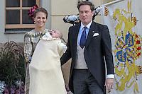 Christening of prince Nicolas of Sweden