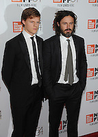 NEW YORK, NY - OCTOBER 01: Casey Affleck and  Lucas Hedges attends the 54th New York Film Festival - 'Manchester by the Sea' World Premiere at Alice Tully Hall at Lincoln Center on October 1, 2016 in New York City.Photo Credit: John Palmer/MediaPunch