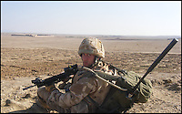 BNPS.co.uk (01202 558833)<br /> Pic: TimelessDeception/BNPS<br /> <br /> In Helmund 2008 with ecm in backpack.<br /> <br /> A hardened medic in the Special Boat Service has made a drastic career change - after starting out as a professional magician. <br /> <br /> Steel Johnson quit his 10 year military career after enduring two hellish tours of Iraq and Afghanistan.<br /> <br /> The 32-year-old is now fulfilling his childhood dream of performing magic full-time. <br /> <br /> Steel, whose real name is James, has practiced sleight of hand tricks since the age of nine.