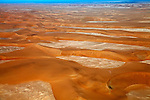 Africa, Namibia, Sossusvlei. The red dunes of Sossusvlei.