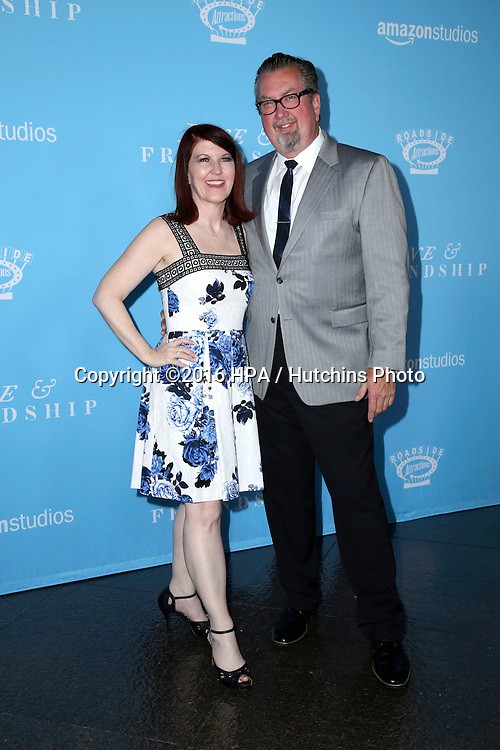 LOS ANGELES - MAY 3:  Kate Flannery, Chris Haston at the Love & Friendship LA Premiere at the DGA Theater on May 3, 2016 in Los Angeles, CA