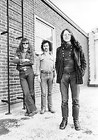 Budgie pictured in 1974.  Credit: Ian Dickson/MediaPunch