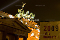 Berlin: Fall of the Wall celebrations (20th anniversary) / Berlin: 20 Jahre Fall der Mauer
